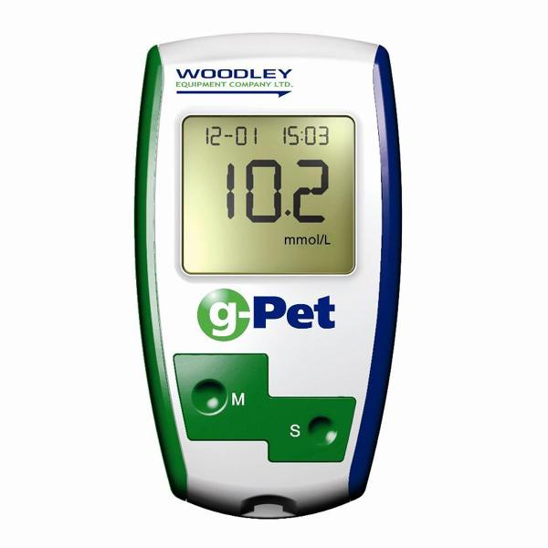 Veterinárny glukomer WOODLEYG-PET